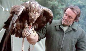 el hombre y el águila