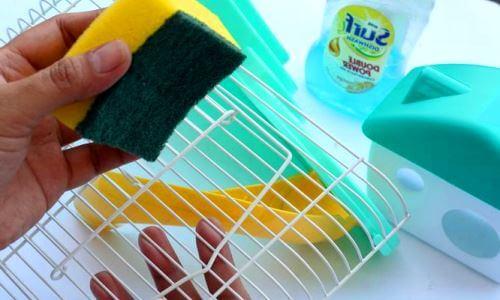 cómo limpiar la jaula de un hámster