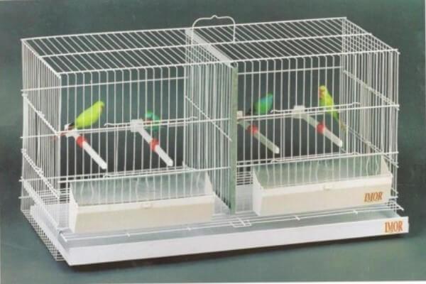 jaula para canarios dimensiones