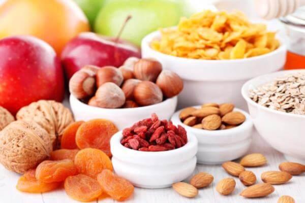 frutas para cacatúas