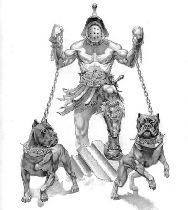 cuál es el orgien del cane corso