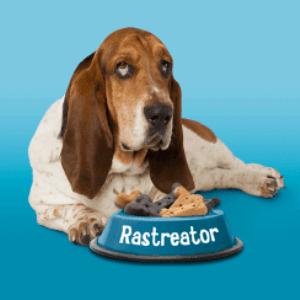 ¿Qué raza es el perro de Rastreator?